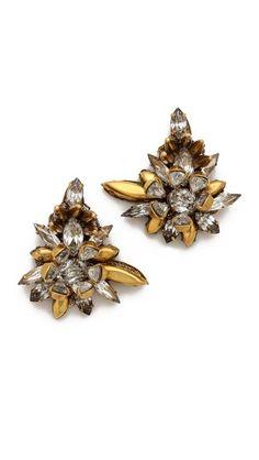 Erickson Beamon Velocity Cluster Earrings