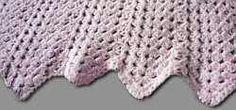 Crocheted Granny Inspired Chevron Baby Blanket...By: Kristin Omdahl of Styled By Kristin.
