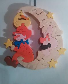 Decoration for baby: clown