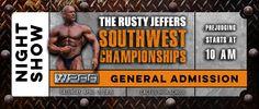 The Rusty Jeffers Southwest Championships#bodybuilding #Rusty #Jeffers #posing #muscle #shows #championship #southwest #WPAA #RustyJeffers