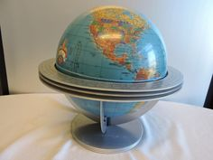 "The Classica from Cram Globes 12"" Globe with Free Floating Cradle #Canon"