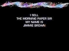Jimmie Brown The Newsboy