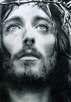ATONEMENT -JESUS CHRIST PORTRAIT by Noel Cruz by noeling on DeviantArt