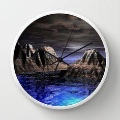 Doversity Wall Clock by Jeffrey J. Irwin - $30.00 http://society6.com/product/doversity_wall-clock?curator=lizzshop