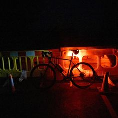 Ooops... When road blocks attack. #baarb #baaw #cycling #colddarknorth #outsideisfree #fromwhereiride #dark #newroadsfridays