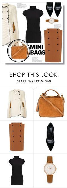 """So Cute: Mini Bags"" by queenvirgo ❤ liked on Polyvore featuring Sonia Rykiel, Mark Cross, Bottega Veneta, Dsquared2, Enza Costa, Elie Beaumont, cute, bags and mini"