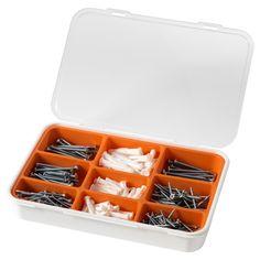 FIXA Ruuvi- ja tulppasetti, 260 osaa - IKEA