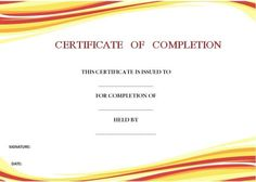 ProjectCompletionCertificateTemplate  Certificate Of