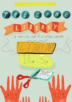 The Zine Library is a new zine fair taking place on July 6th and 7th in Folkestone, U.K!