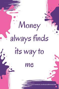"""Wealth affirmation, from the 'Wealth Journal - Change Your Money Mindset in 90 days"""""""