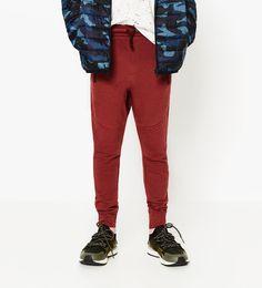 Spodnie z pikowaniem po bokach