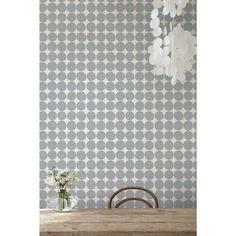 marimekko pienet kivet wallpaper in grey and white by Maija lsola  #Jen Allen ?