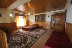 View of Suite Room at Teen Taley Eco Garden Resort, Rumtek, Sikkim.