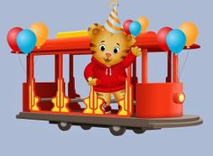 Daniel Tiger's Neighborhood Edible Image Icing Sheets Custom Topper Personalized