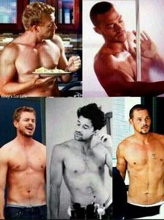 Grey's Anatomy men, everyone of them is gorgeous!