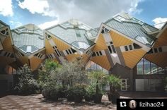#Repost from Architecture student @lizihao24 traveling in the Netherlands  #cubehouse #pietblom #livingasanurbanroof #villagewithinthecity #rotterdam #netherlands #architecture #architecturephotography #architecturelovers #architecture #asudesignschool #asustudyabroad