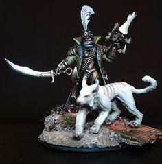 Kali Dakkar, Captain of the Dread Nautilus -  #Inquisition #RogueTrader
