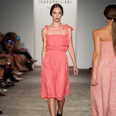 Paola Dress Coral