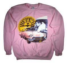Elvis Cadillac Sweatshirt