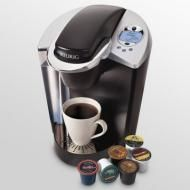 Price $94.99 - The Special Edition Brewing System brews a perfect cup of coffee, tea, hot cocoa or iced beverage in under one minute at the touch of a button. Featuring chrome accents and a blue, backlit Lcd display, the Special Edition brewer allows you to program water temperature, set the digital clock and Auto...