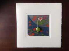 MISU card design | green river pod Green River, Japanese Paper, Silk Screen Printing, Woodblock Print, Wool Felt, Watercolor Art, Stationery, Pure Products, Prints