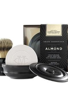 Gift your husband with the ultimate shaving experience in the comfort of your own home this Christmas with the Caswell-Massey Almond Shave Soap and Brush Set that features a complete set to ensure a close, comfortable shave.