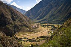 Lost City of Llactapata, Peru