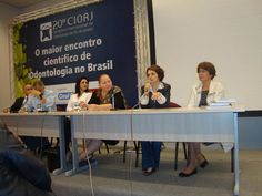 Mesa redonda no Simpósio de Odontologia do Trabalho do 20o CIORJ — em Rio Centro.- 2011