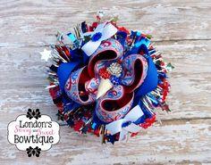fourth of july jojo bow
