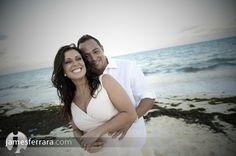 Engagement shoot in Riviera Maya Mexico