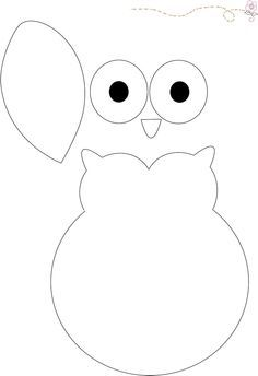 owl clip art black and white - Google Search