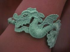Cruciani bracelet, limited edition, the Dragon. I want this!