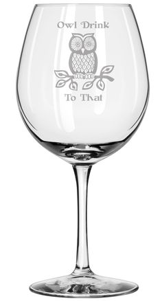 Owl Drink to That - Wine Glass - Owls Presents - Fall - Autumn Gifts - Halloween - Decor - Handmade - Housewarming Gifts - Christmas. GREAT AS A GIFT • Our wine glass is an unique gift for birthdays, housewarming, or any special occasions such as Anniversaries or Valentine's Day • Give your owl loving friends, family and co-workers memorable presents this Christmas, New Years, Mother's Day or Father's Day WHY BUY FROM US • All products are handmade in the USA • Background in design…