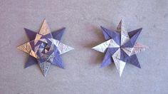 Christmas Origami Instructions: Braided Star (Maria Sinayskaya) via happyfolding.com