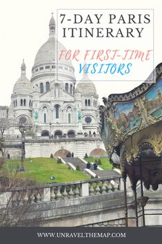 Planning a trip to Paris? Maximize your time and energy by following our 7 day itinerary for first time visitors to Paris, France! There are numerous museums to explore, significant French monuments to discover, and wonderful opportunities for great viewpoints overlooking Paris!