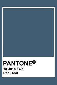 Pantone Real Teal