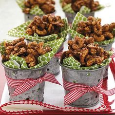 Spiced Nuts for the holidays