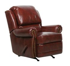 Regency II Recliner (Burgundy) BarcaLounger in Recliners and Rockers. The Regency II is a handle activated, rocker recliner with accenting brass nails, adjustable back pillows in two color choices. Furniture Outlet, Online Furniture, Luxury Furniture, Dump Furniture, Living Room Furniture, Living Rooms, Barcalounger, Leggett And Platt