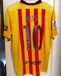 2d11e2622 Lionel Messi Barcelona 2015-2016 Away Lionel Messi Barcelona