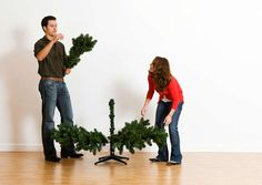 How to Make Your Fake Christmas Tree Look Real