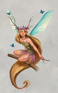 fantasy fairy art