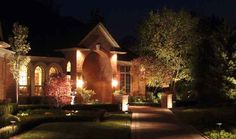 With spring here, it's the perfect time to spend an evening outdoors. Check out our landscape lighting services here
