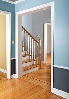 This was an add for house cleaning, but I love the two toned walls, maybe an idea for our house? The living room?  (AmazonLocal Bellevue/Eastside: House Cleaning by a Team of Two)