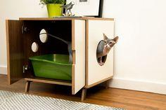 25 idées géniales de meubles spécialement conçus pour les amoureux des chats.