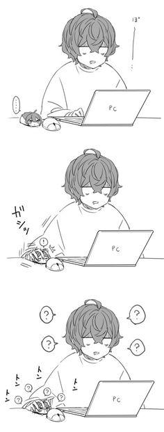 さやか(tnprykmr35)のお気に入り - ツイセーブ Angel Of Death, Chibi, Boy Hair Drawing, Funny Art, Anime, Anime Funny, Cute Drawings, Fan Art, Manga