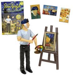 One of the topics featured in the Common Core Weekly Reading Review 5 by The Teacher Next Door: Vincent Van Gogh for children (links and suggestions for some fun activities)