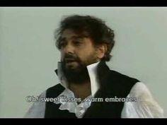 Placido Domingo - Tosca - E lucevan le stelle