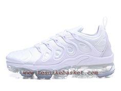 quality design 74429 fbdc9 Running Nike Air Vapormax Plus Triple White Chaussures Officiel Nike Pour  Homme - Les Nike Sneaker Officiel site En France