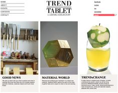 trendtablet designed by Lidewij Edelkoort