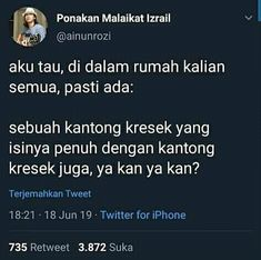 Quotes Lucu, Jokes Quotes, Funny Quotes, Funny Memes, Twitter Quotes, Tweet Quotes, Daily Quotes, Reminder Quotes, Self Reminder